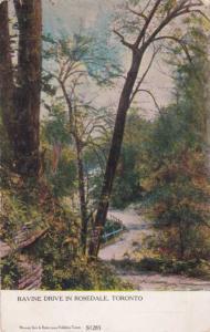 Ravine Drive in Rosedale - Toronto, Ontario, Canada - pm 1905 - DB