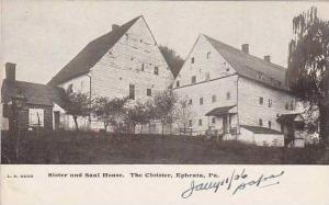 Pennsylvania Ephrata Sister And Saal House  The Colister