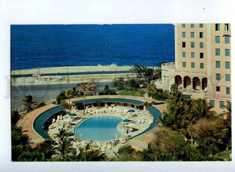 203079 CUBA HAVANA Hotel Nacional de Cuba Old photo postcard