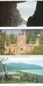 Folder PC; East Coast PORT ARTHUR, Tasmania, Australia, 1940-60s; 13-views