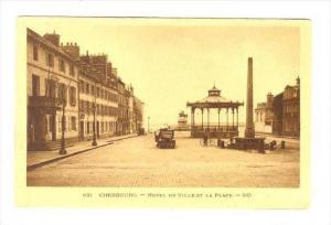 Hotel De Ville Et La Place, Cherbourg (Manche), France, 1900-1910s