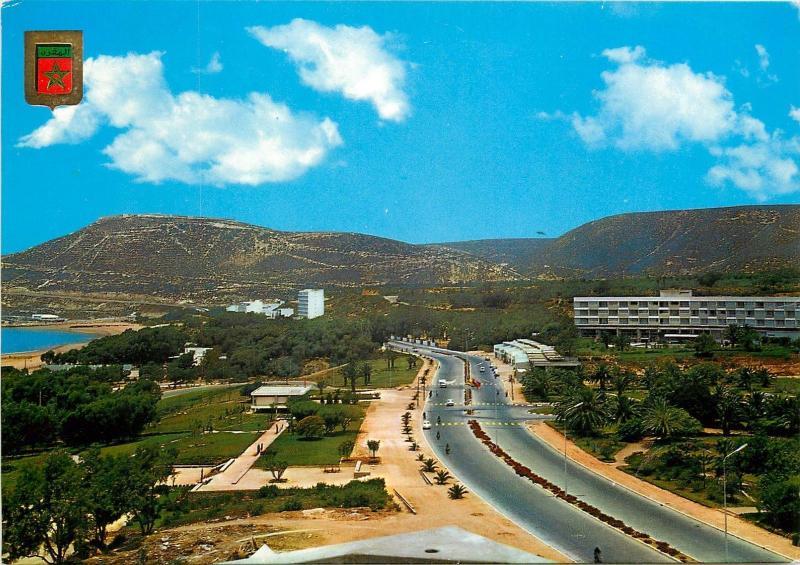 Morocco Agadir Mohamed V Avenue