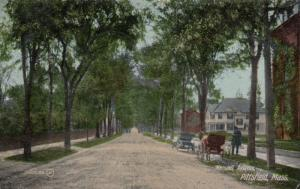 PITTSFIELD , Massachusetts, 1911 ; Wendell Avenue