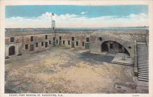 Florida Saint Augustine Court Fort Marion