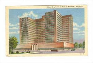 Kahler Hospital to be Built at Rochester, Minnesota, 30-40s