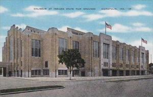 Indiana Dianapolis Coliseum At Indiana State Fair Grounds
