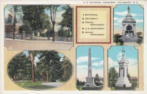 SALISBURY, North Carolina, 10-30s ; National Cemetery