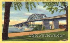 Peace Bridge Buffalo NY Unused