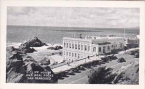 California San Francisco Cliff House and Seal Rocks Small Card