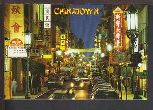 Chinatown San Francisco CA Postcard BIN
