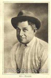 Will Rogers Actor, Actress, Movie Star Unused