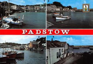 Cornwall Postcard, The Harbour, Padstow, Multi View S20