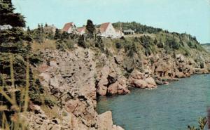 Postcard Keltic Lodge Ingonish Beach Nova Scotia