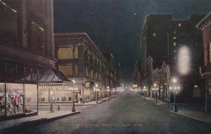 Minnesota St Paul Sixth Street At Night