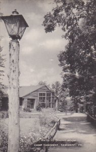 Path To Dining Room Camp Tamiment Tamiment Pennsylvania Artvue