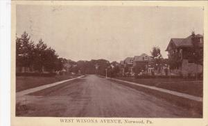 West Winona avenue , NORWOOD , Pennsylvania , PU-1908