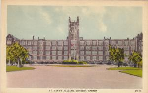 St Mary's Academy , WINDSOR , Ontario , Canada , 30-40s