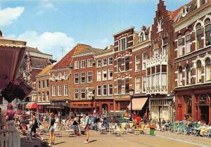 Netherlands Utrecht Vismarkt Street Shops Market Place