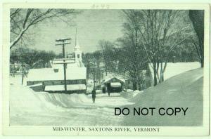 Mid-Winter Saxtons River Vt