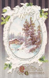 Christmas Beautiful Landscape Scene Winsch