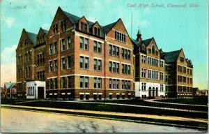 Vtg Cartolina Circa 1908 Est Alto Scuola Cleveland Oh - Non Usato - News Pub