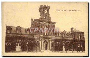 Old Postcard Dives sur Mer The Hotel de Ville