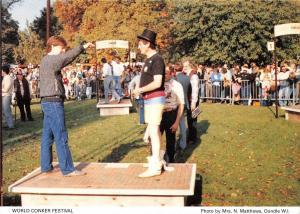 B100621 world conker festival types folklore   uk