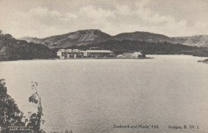 ANTIGUA , B.W.I. , 00-10s ; Dockyard & Monks Hill