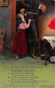 Put on Your Tat-Ta, Little Girlie! No. 2, Romantic Kiss, Couple