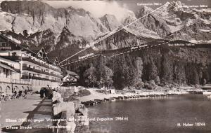 Germany Eibsee gegen Waxenstein Riffelwand und Zugspitze Photo