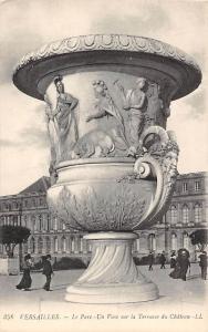 France Versailles - Le Parc, Un Vase sur la Terrasse du Chateau