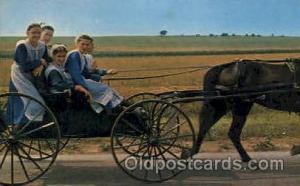 Amish Country Amish Post Card, Post Card  Amish Country