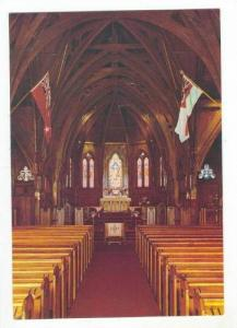 Interior St Paul´s cathedral, Wellington, New Zealand 60-70s #2