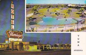 Flamingo Hotel A Ramada Inn Pool Yuma Arizona
