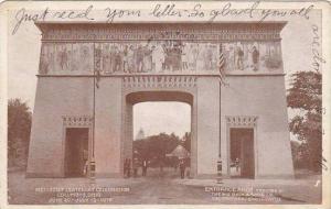 Ohio Columbus Entrance Arch Methodist Centenary Celebration 1919
