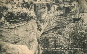 1947 Helderburg Mountains New York Indian Ladder Trail Camp Pinnacle 2672