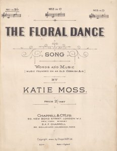 The Floral Dance Katie Moss Olde Sheet Music
