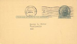 Philadelphia International Wallpapers Sales Agency Postal~1932 Doane #2 Cancel