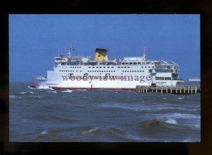 FE2450 - Trans Europa Ferry - Eurovoyager ,built 1978 ex Prins Albert - postcard