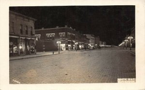 LP21  McPherson  Kansas RPPC  Postcard White Way Electric
