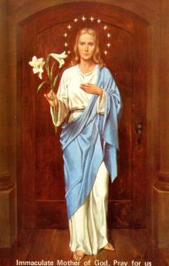 Immaculate Mother of God, Pray For Us.