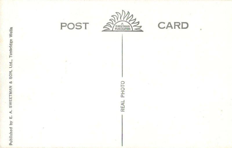 Post card England Glastonbury George Hotel & Pilgrims' Inn