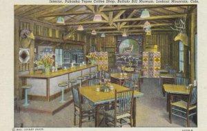 LOOKOUT MTN., Colorado, 30-40s; Interior, Pahaska Tepee Coffee Shop, Buffalo ...
