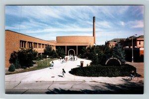 Fargo ND- North Dakota, N Dakota St University, Reineke Arts, Chrome Postcard