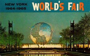 New York World's Fair 1964-1965 Unisphere At Night