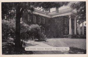 RIDGWAY, Pennsylvania, 00-10s; Elk County General Hospital