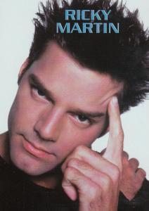 Ricky Martin Postcard