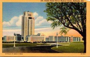 Maryland Bethesda United States Naval Medical Center 1945