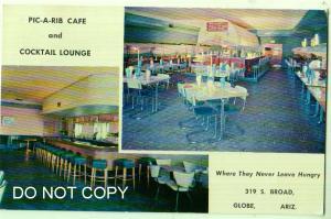 Pic-A-Rib Cafe & Cocktail Lounge, Globe Az