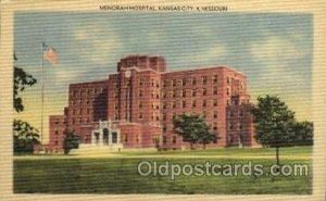 Menorah Hospital, Kansas City, Missouri, USA Medical Hospital Unused